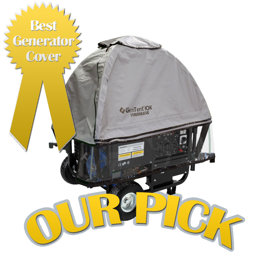 GenTent is Our Pick for Best Generator Cover